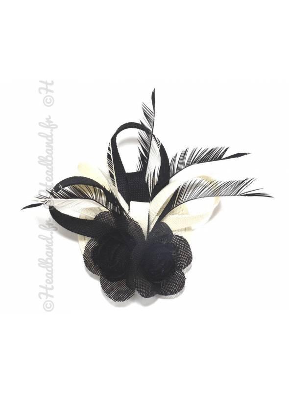 Chapeau bibi noir et blanc