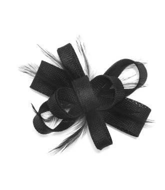 Fascinateur soirée à plumes noir