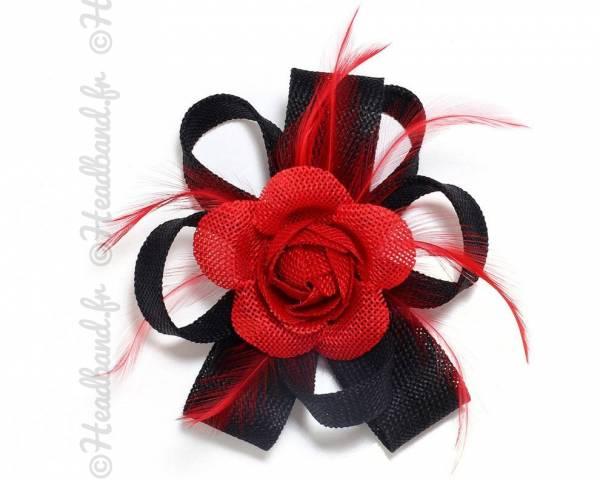 Fascinateur bicolore rouge et noir