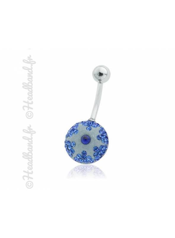 Piercing nombril étoile pavé de cristaux Swarovski®
