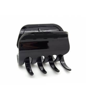 Pince crabe noire finition brillante 8 cm