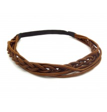 Headband indian marron