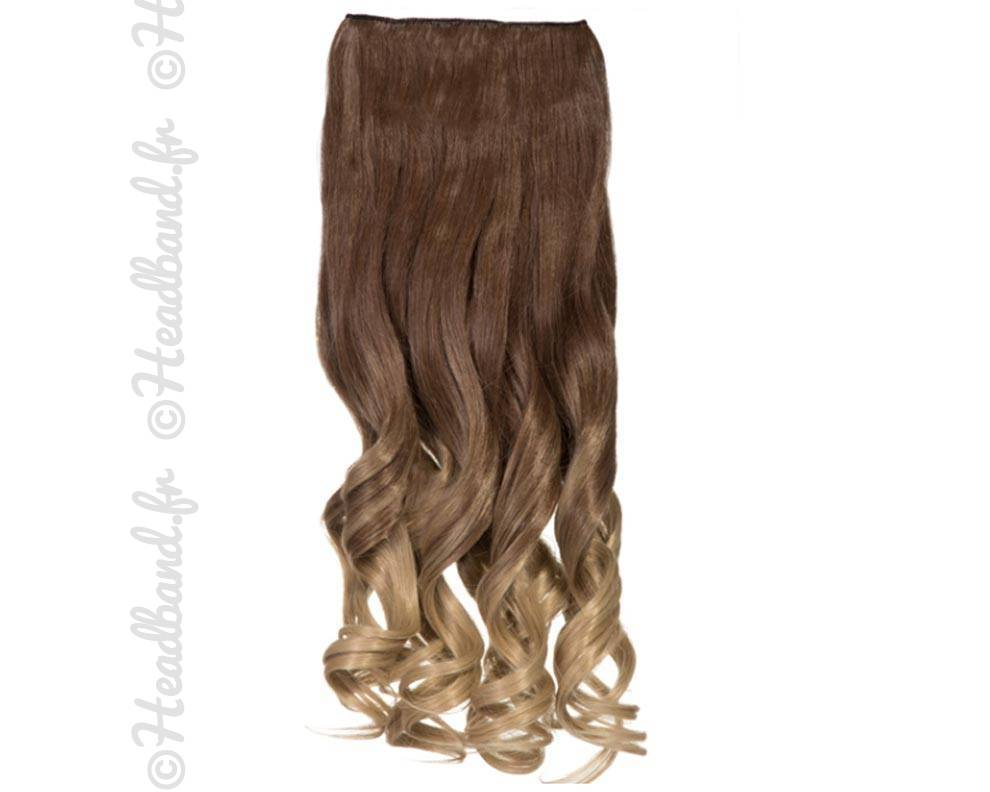 Extension ondul e ombr hair ch tain blond - Ombre hair chatain ...