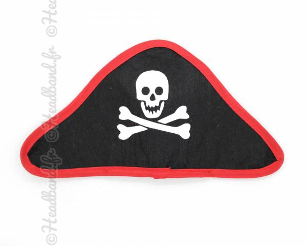 Headband Halloween avec chapeau pirate