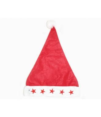 Bonnet de Noël adulte avec étoiles lumineuses