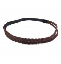 Headband daim marron