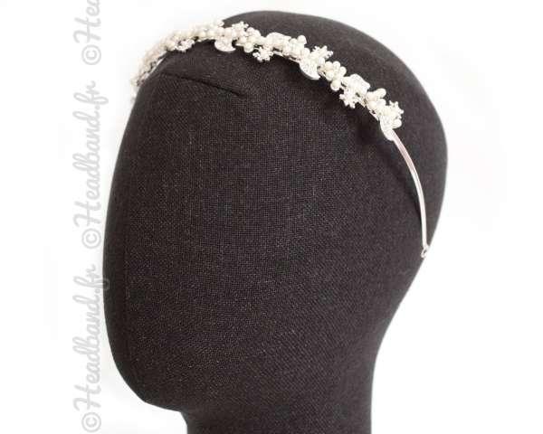 Serre-tête cascade de perles