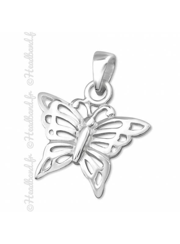 Pendentif papillon argent 925