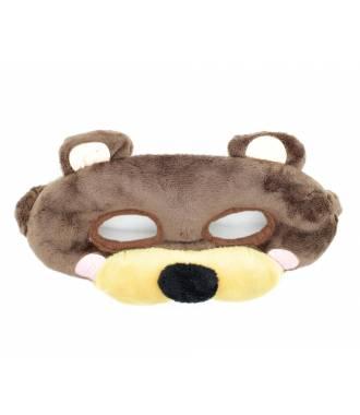 Masque peluche enfant ourson