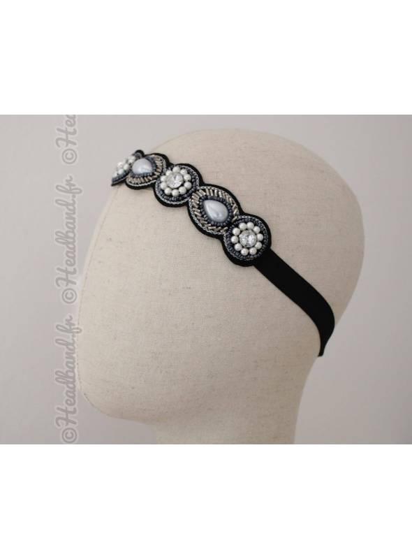 Bijou cheveux Dounia perles élégantes