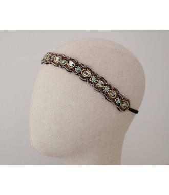 Bandeau ethnique en perles Louison