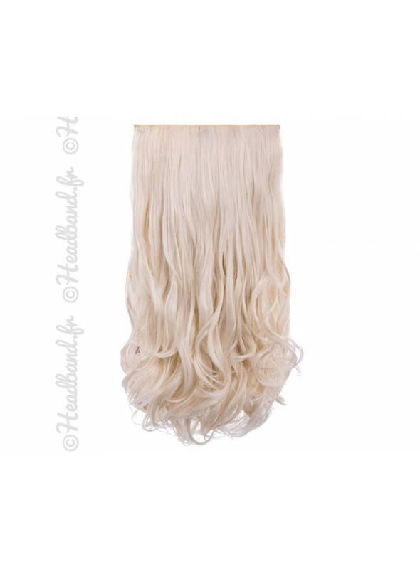 Kit Deluxe 5 bandes boucles 50 cm - Blond très clair