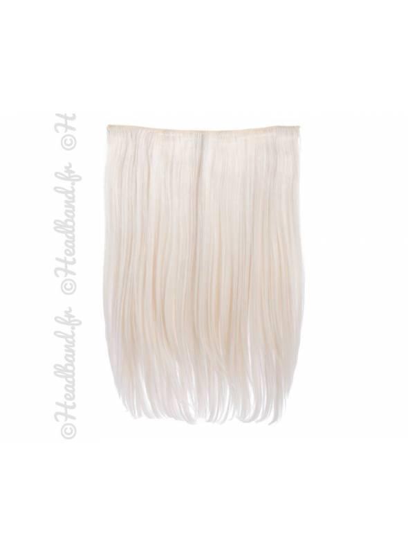Rajout monobande raide 45 cm - Blond très clair