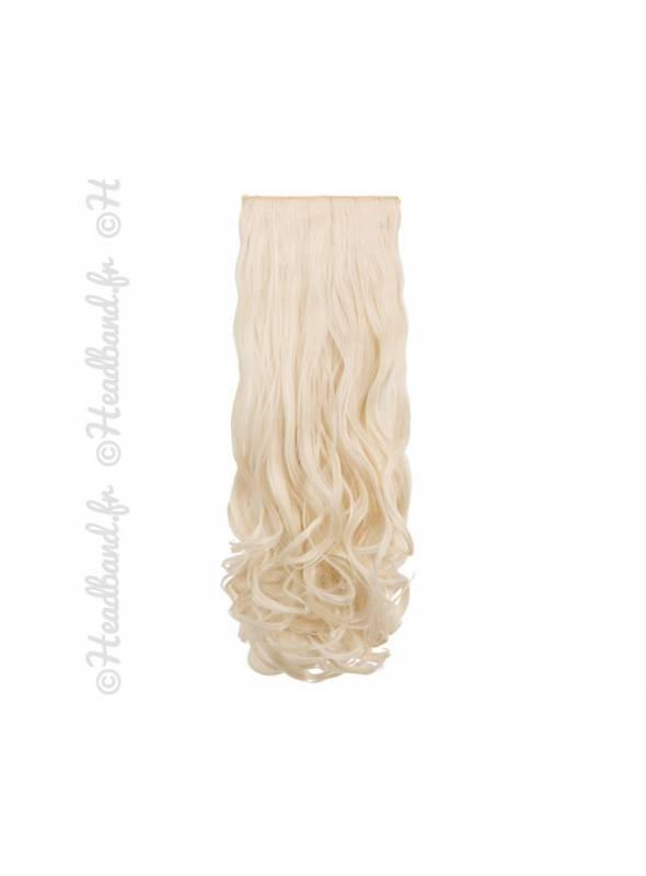 Pack 8 bandes extensions ondulées 300 g - Blond très clair