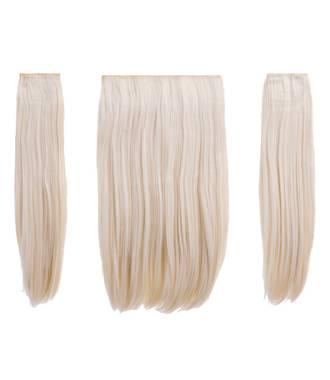 Extensions raides maxi-volume 200 g - Blond très clair