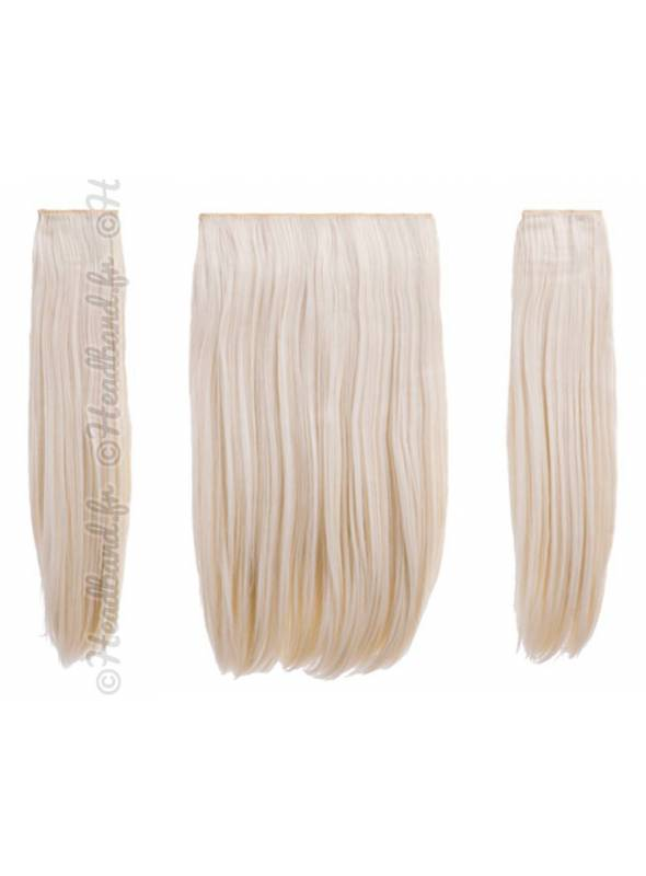 Extensions raides maxi-volume 200 g - Blond très clair