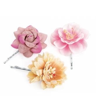 plus récent caractéristiques exceptionnelles meilleure vente Pince plate fleur bohème lot de 3 Pince plate fleur bohème lot de 3