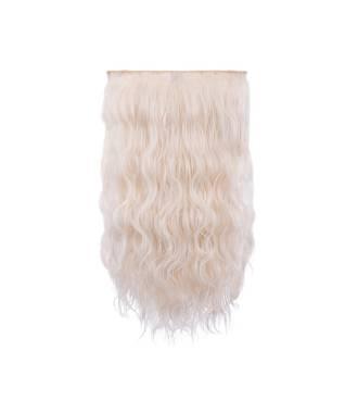 Extensions 3 bandes boucles wavy 50 cm - Blond très clair