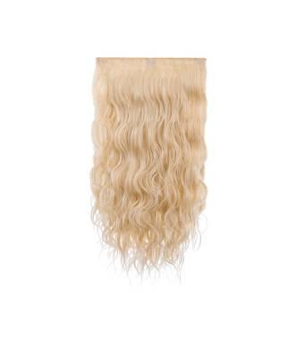 Extensions 3 bandes boucles wavy 50 cm - Blond clair