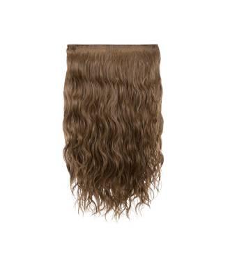 Extensions 3 bandes boucles wavy 50 cm - Blond foncé