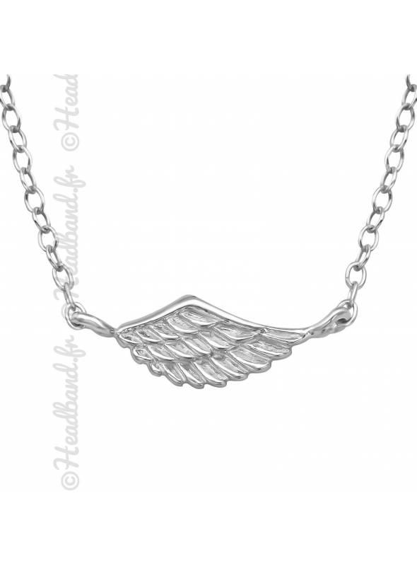 Collier aile d'ange argent 925