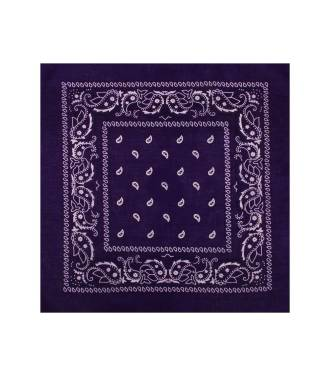 Bandana violet foncé