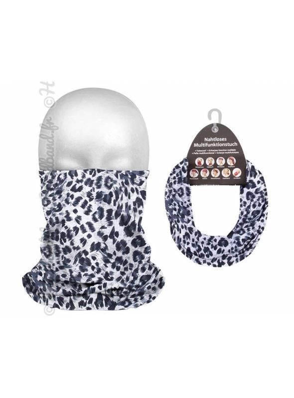 Headband running femme motif léopard