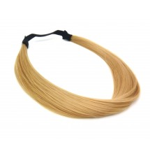 Headband mèches cheveux blond