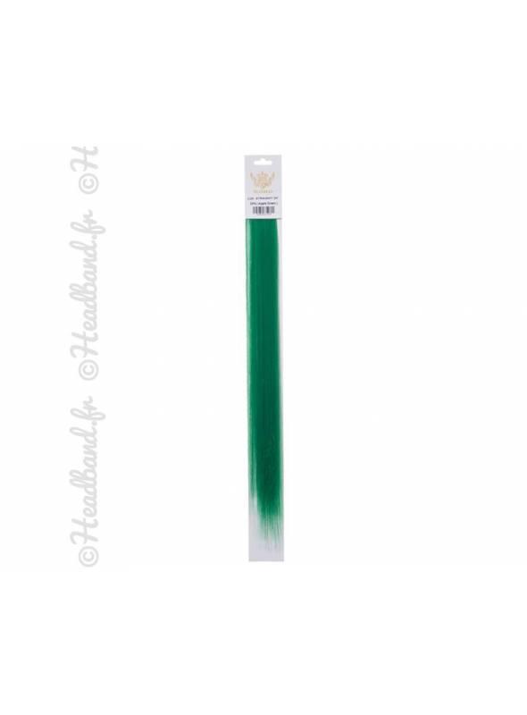 Mèches à clip vert x 2