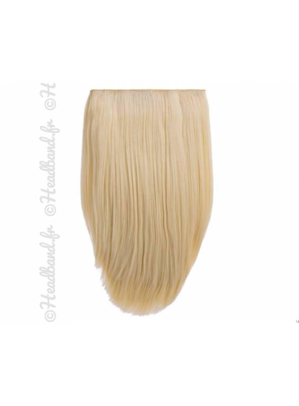3 bandes extensions raides - Blond platine
