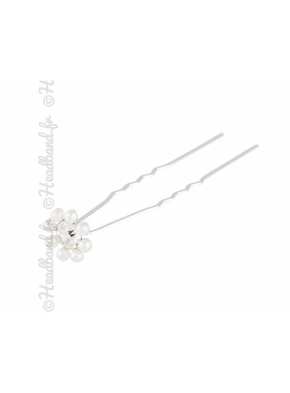 Pics à chignon perles mariée x 5