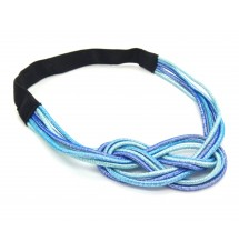 Headband noeud marin bleu