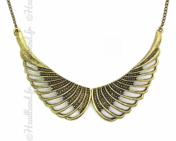 Collier aile d'ange