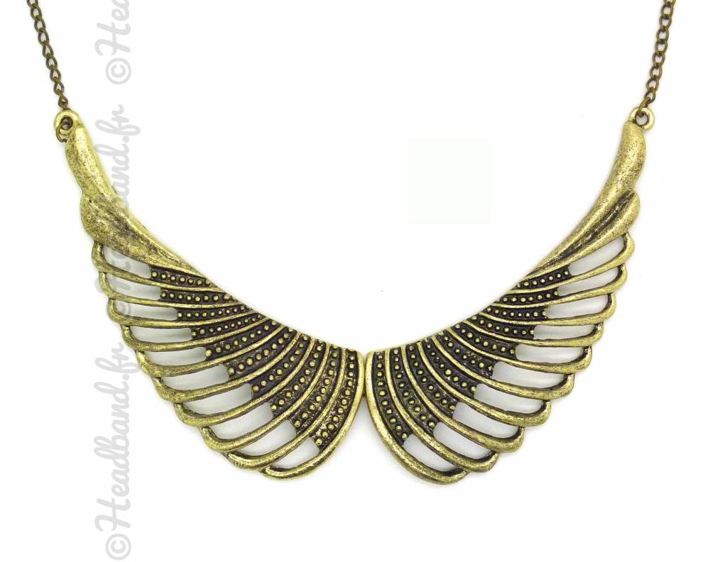 Collier aile d 39 ange for Tableau aile d ange