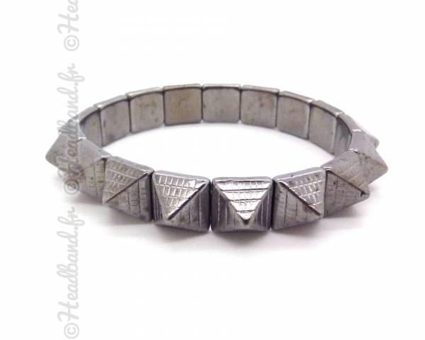Bracelet pyramides