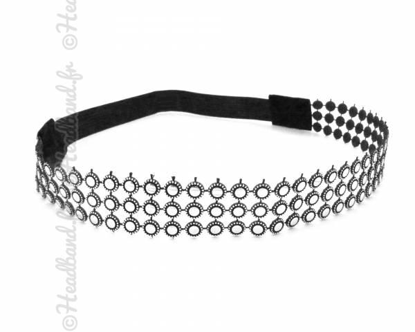 Headband rond métal