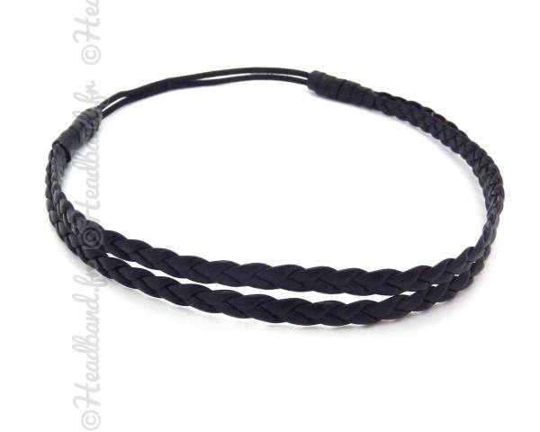 Headband double noir