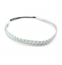 Headband simply argenté