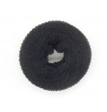 Donut à chignon noir vue 3