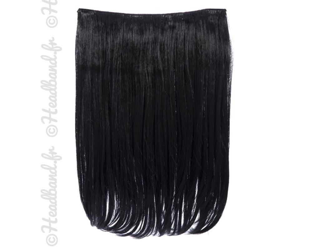 souvent Bande 4 clips cheveux raides noir RV52