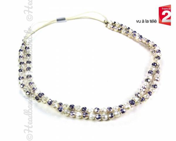 Headband bijou perles