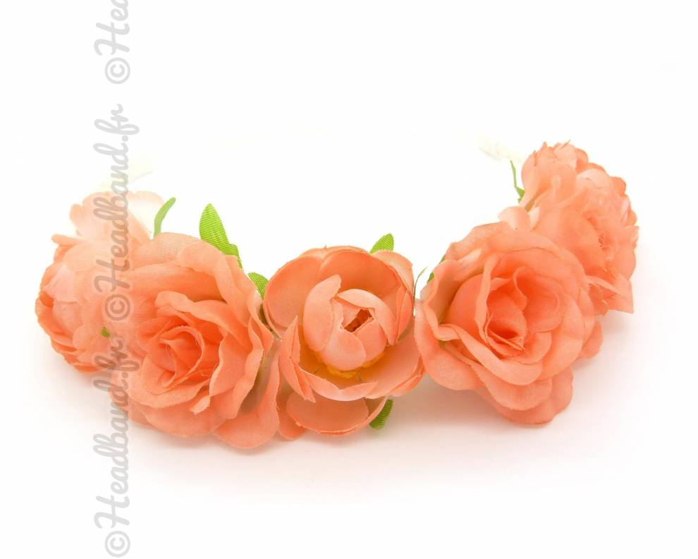 Couronne de fleur corail for Couronne de fleurs