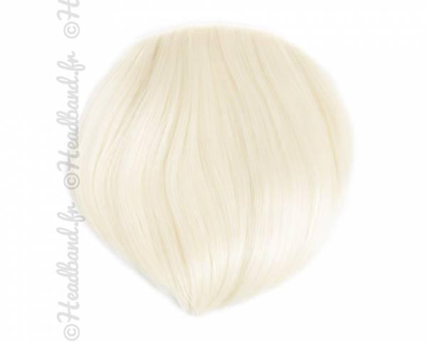 Frange à clip - Blond platine