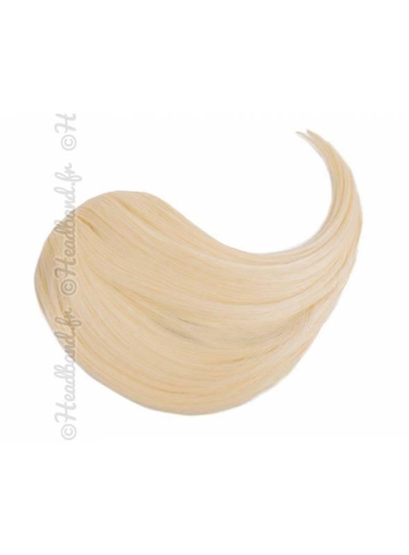 Mèche à clip - Blond platine