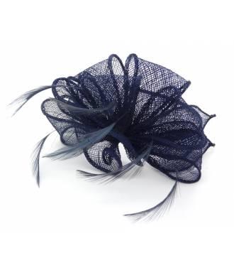 Serre-tête bibi bleu