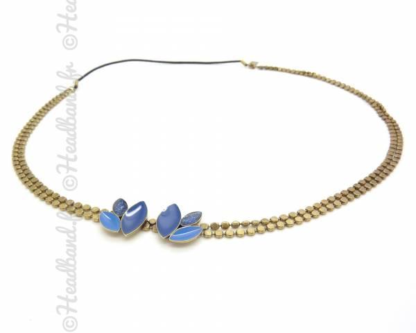 Bijou cheveux Lili bleu