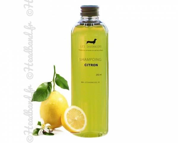 Shampoing doux citron