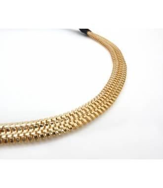 Headband acier doré zoom