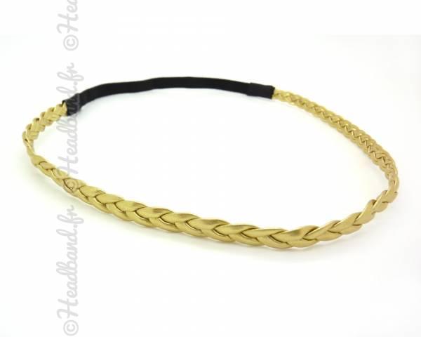 Headband simple doré