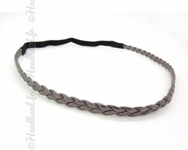 Headband simple gris